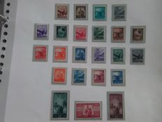 Italy, Republic, 1945-  Complete Democratic series - Sassone  No.  543–565