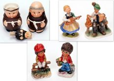 Collection Goebel 7 x porcelain figurines