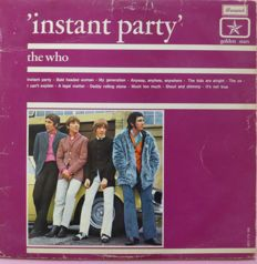 "Very rare copy of  ""Instant Party"" by The Who (Brunswick ‎– BDV 173 269, NL, 1967, mono) Dutch Only"