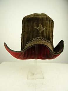 Traditional hat - Tibet - 19th to early 20th century