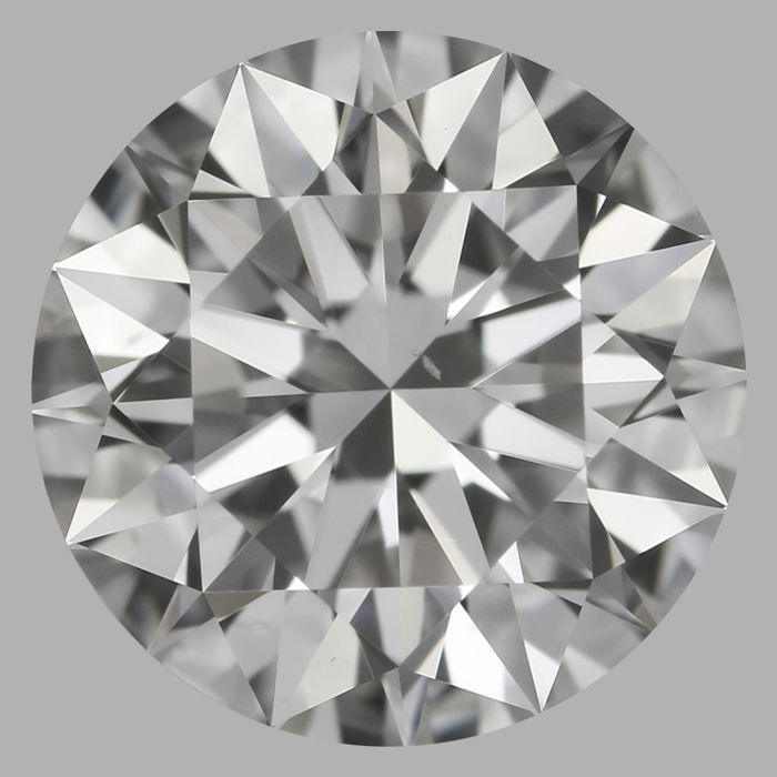 Round Brilliant Diamond 0.70 Carat , G VS2   Cert: GIA  #DS-30 -original image10X