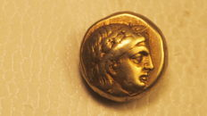 Ancient Greece - Aeolis - Lesbos - Mytilene - Hektos or one sixth of a stater in electrum, circa  377-326