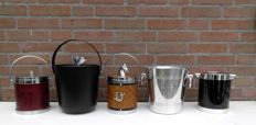 Champagne / Wine cooler TMOP, three ice-cube bucket, oil lamp