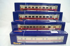 Roco H0 - 45922 - 4 passenger wagons TEE-RIC Gran Confort of the FS