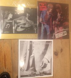 Three albums of The Rolling Stones ||  Coloured vinyl || Limited edition