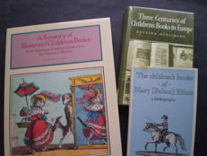 Reference works; Lot with 3 publications on children's books - 1967 / 1989