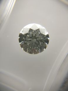1.41 ct Round cut diamond F SI2   No Reserve Price