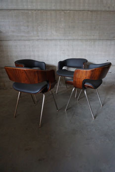Martin Grierson for Arflex - Set of Four 'Oxford' Chairs