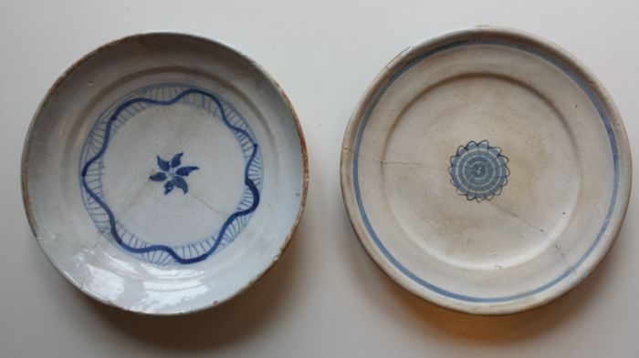 Faience and Majolica plate