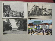 Lot of 105 postcards, 1910s/1940s landscapes Italy and other subjects