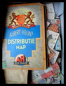 Distribution WWII - extensive amount of original material - 1917/1947