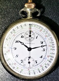 G. Wahl & Cº - Pocket watch chronograph / Medical chronometer - AC 1930
