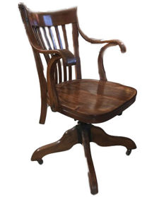 Office swivel chair - USA - early 20th century