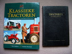 Tractors; Lot with 2 interesting publications about tractors - 1959/2004