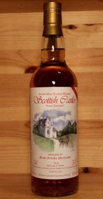 "Blair Athol 1989/2013, aged 23 years, Single Malt Scotch Whisky, Scottish Castles ""Final Edition"" Serie 70cl 55,5%vol"