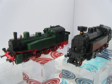 Klein Modellbahn H0 - 256/241 - Steam locomotives Series T13 of the KPEV and Series BR 77 of the DRG