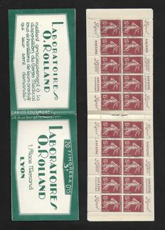 France 1929 - Rolland Laboratories - Yvert no 189-C2