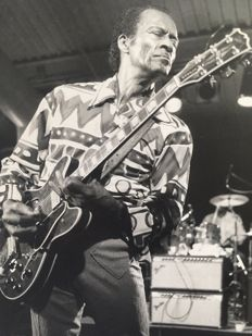 Albert Ferreira - Chuck Berry, New York, 1989