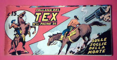 Tex strip I series no. 54 - first ed. not reprint (1948)