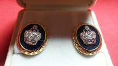 Fabergé imperial collection, Tatiana Faberge ear clips
