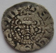 United Kingdom - Long Cross Penny Henry III 1216-1272 Class IIIb Iacob Mint Norwich (2 coins) - silver