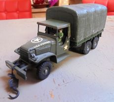 Dinky Toys-France - Schaal 1/48 - GMC Militaire Truck No.809