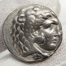 Ancient Greece – SELEUKOS I. Nikator (312-281 BC) AR Tetradrachm, BABYLON