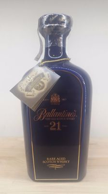 Ballantine's 21 years old - blue decanter