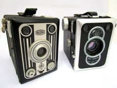 Zeiss Ikon Box-Tengor and Bilora Box, Germany, Middle of the 20th century