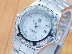 Tag Heuer Mother Of Pearl Diamonds Women's Watch!