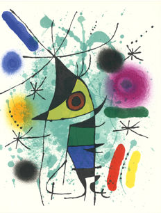 Joan Miró -  Litografia originale I and XI