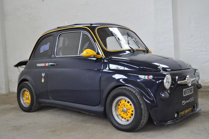 fiat 500 abarth 695 r plique 1974 catawiki. Black Bedroom Furniture Sets. Home Design Ideas