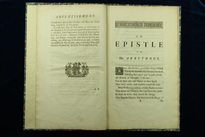 epistle to dr arbuthnot John arbuthnot born: 1667  in january 1735 was published the epistle to dr arbuthnot,  the miscellaneous works of the late dr arbuthnot were published at.