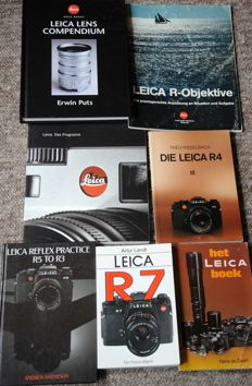 Leica literature - 7 books 1979-2001