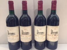 2x 1988 & 2x 1985 Chateau Lagrange, Saint-Julien Grand Cru Classé - 4 bottles