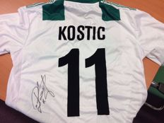 Signed shirt Philip Kostic; used during European match