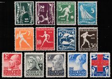 Netherlands 1927/1928 - Red Cross and Olympic Games - NVPH 203/207 + 212/219