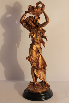 Sculpture of a dancing woman - second half of the 20th century