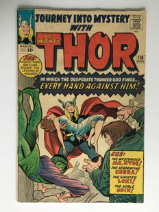 Marvel Comics - Journey Into Mystery / Thor #110 - 1x sc - (1964)