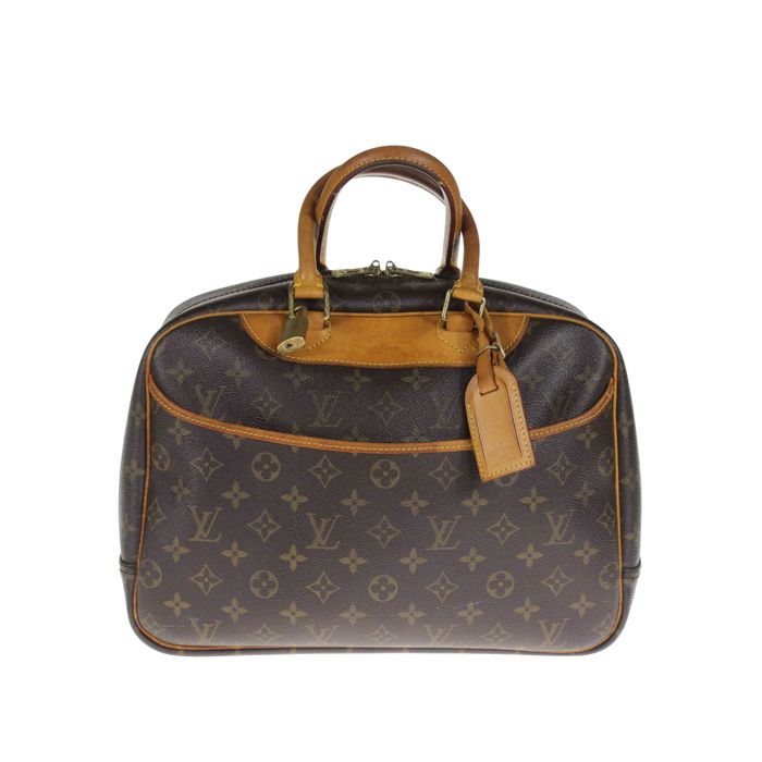 0e36881846d2 Louis Vuitton - Deauville Monogram handbag -  No Minimum Price ...