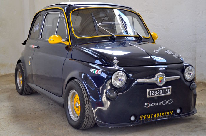 fiat 500 abarth 695 replica 1974 catawiki. Black Bedroom Furniture Sets. Home Design Ideas