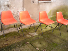 Robin Day for Tecno Milano – 4 'Hille' chairs