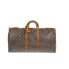 Louis Vuitton - Monogram Keepall 55 travel bag - *No Minimum Price*