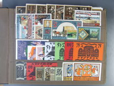 Germany - 196 assorted Notgeld notes, collection