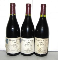 1987  Volnay Cuvée Blondeau Hospices de Beaune, Charles Ninot - Lot 3 bottles