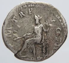 Roman Empire - AR Denarius, Mint of Rome, Hadrian, 117-138 AD