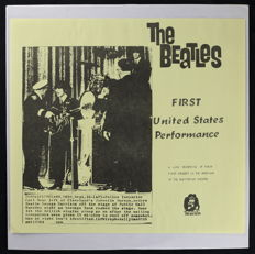 The Beatles – First United States Performance (U.S Unofficial 'King Kong Records' LP 1980, As New)