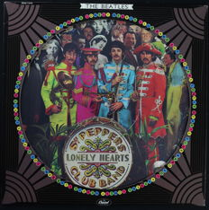The Beatles ‎– Sgt. Pepper's Lonely Hearts Club Band (Official U.S. Limited Edition Picture Disc LP by Capitol Records 1978)