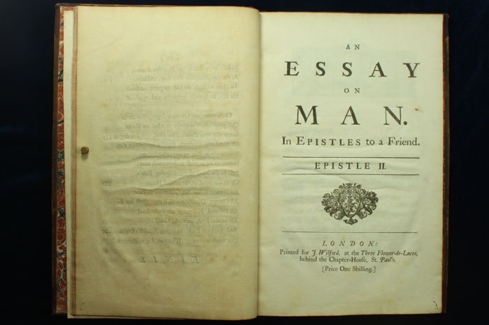 alexander pope essay on man epistle 4 summary