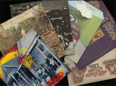 """Allman Brothers Band (3), Canned Heat (2) and """"All good clean fun"""", a rare 2 LP including Canned Heat, Man, Groundhogs and other rare recordings"""